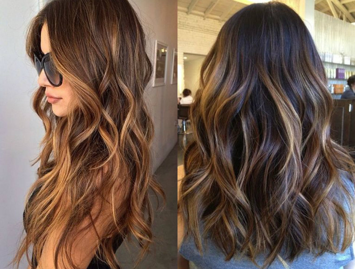 long-brown-wavy-hair-with-highlights
