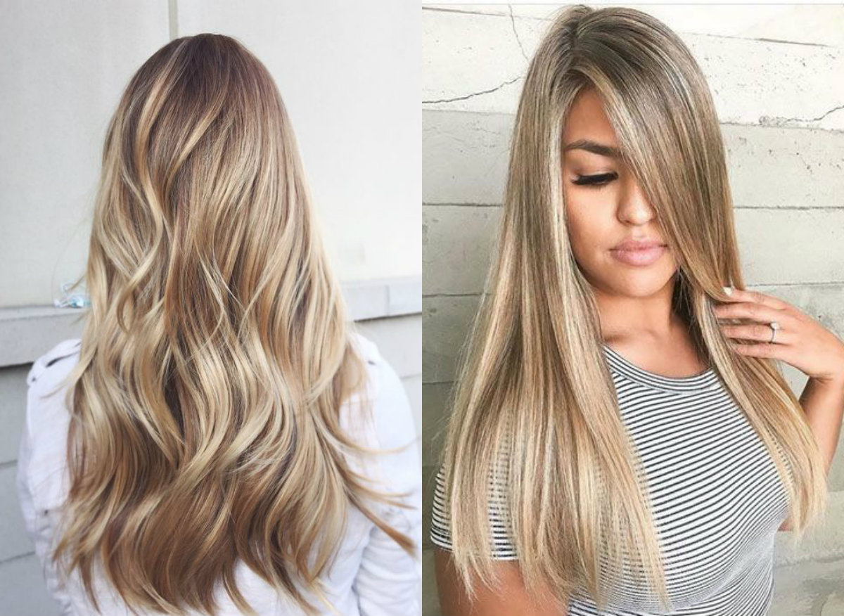 Balayage Blonde Hair Colors 2017 Summer Hairdrome