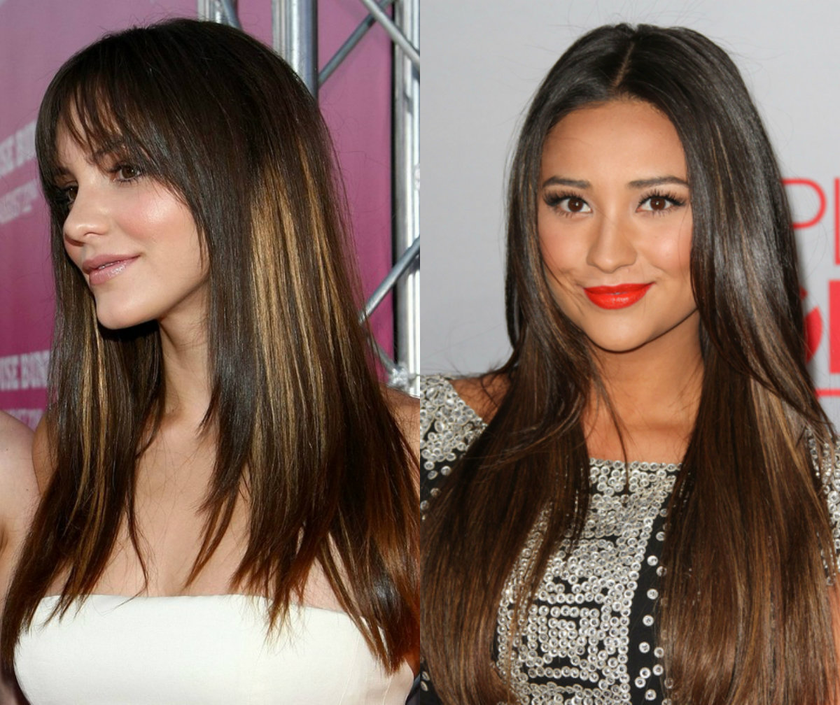 long-straight-brunette-hair-with-highlights