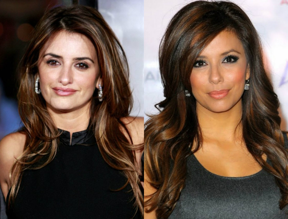 long-wavy-brunette-hair-with-highlights