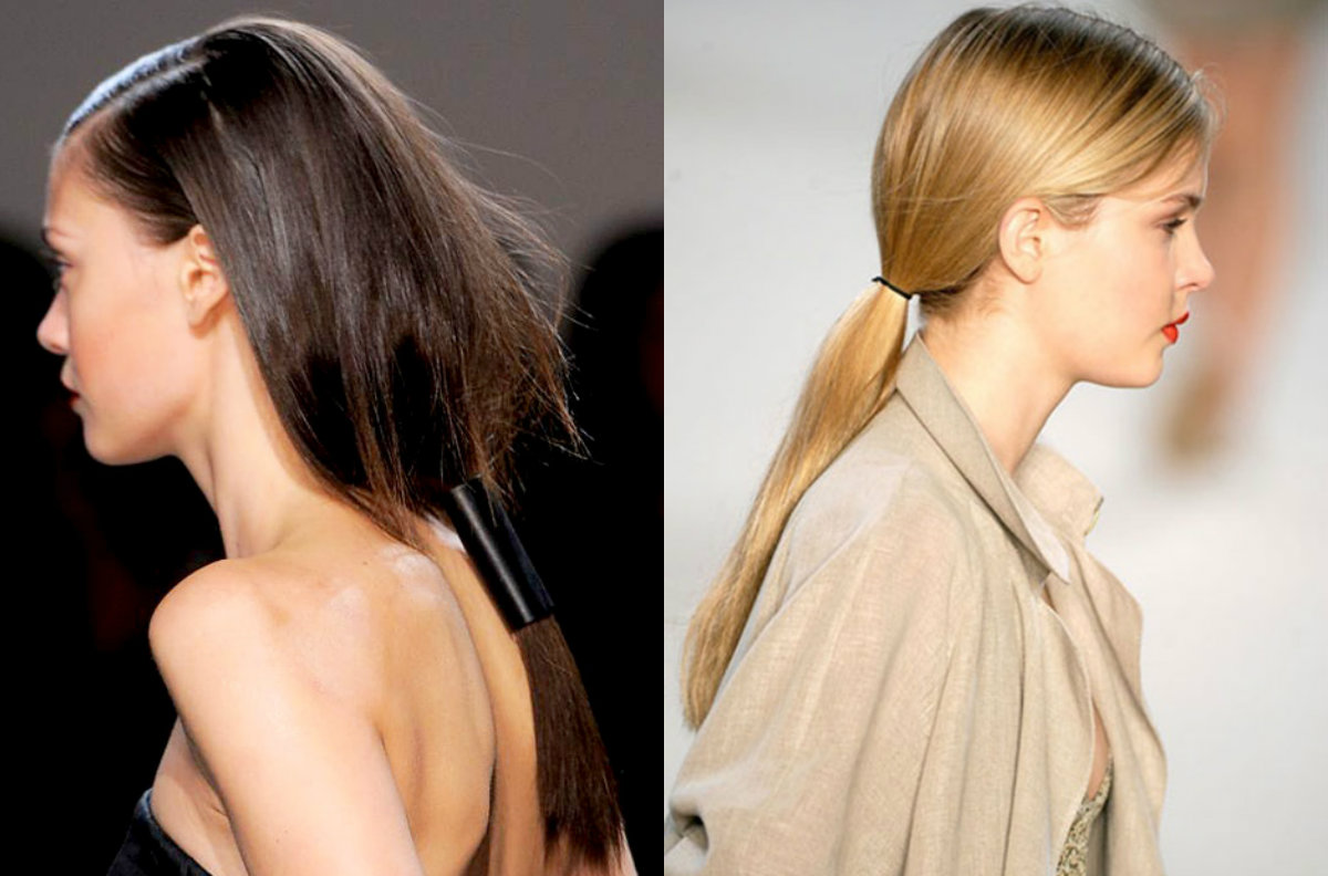 low-ponytail-hair-trends-2017-spring