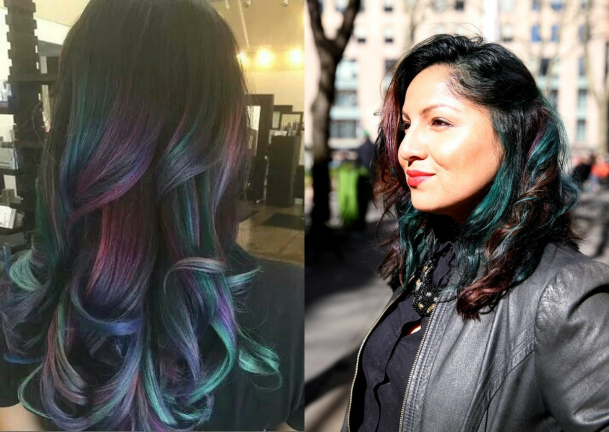 oil-slick-hair-colors-2017-for-brunettes