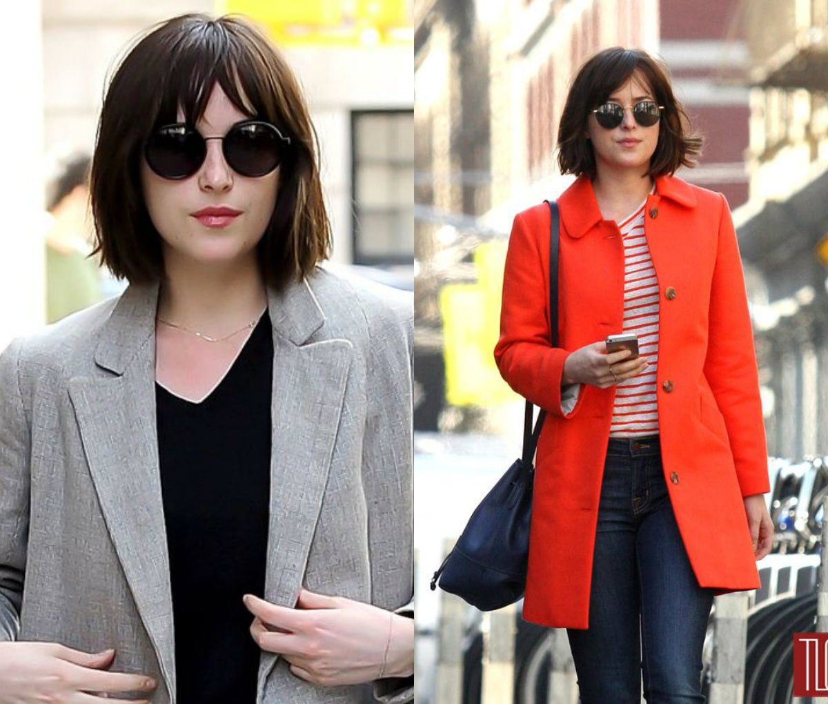 Dakota Johnson bob hairstyles 2017
