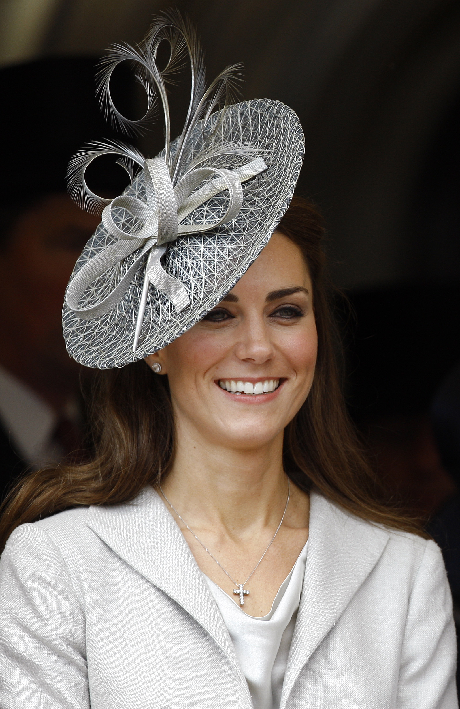Kate Middleton fascinator hat hairstyles 2017