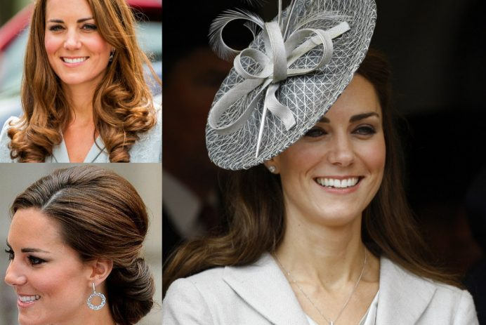 Kate Middleton hairstyles 2017