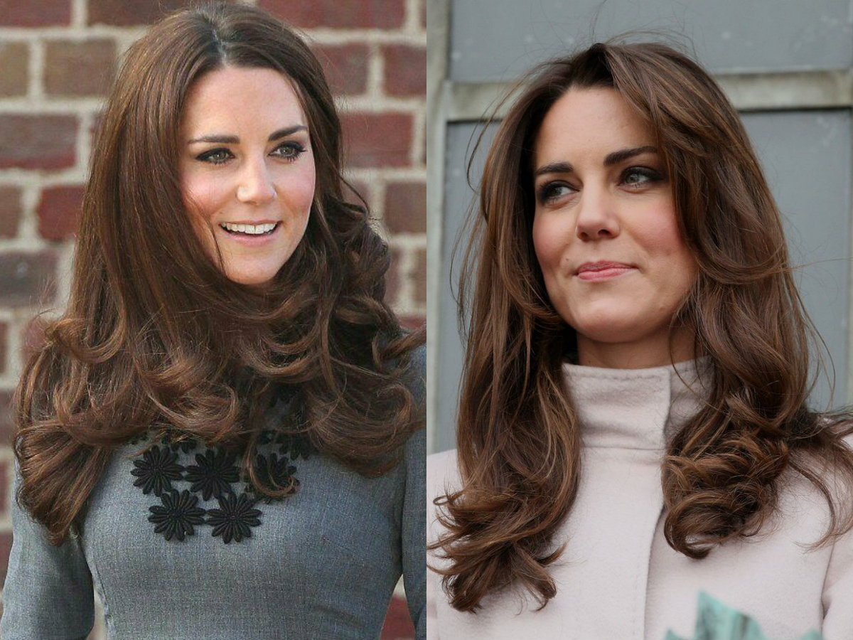 Kate Middleton signature wavy hairstyles 2017