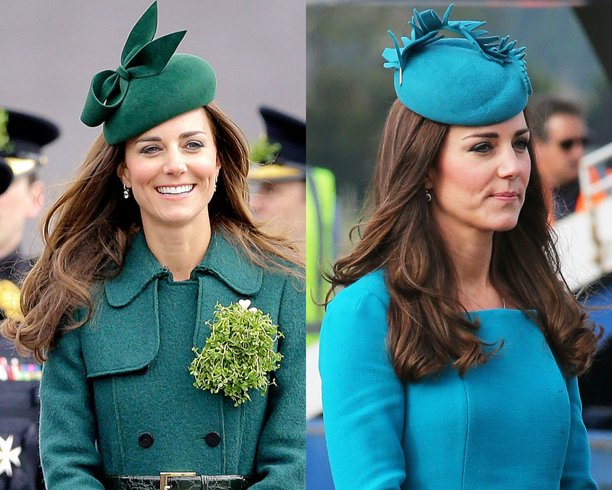 Kate Middleton summer fascinator hats and autumn hairstyles 2017