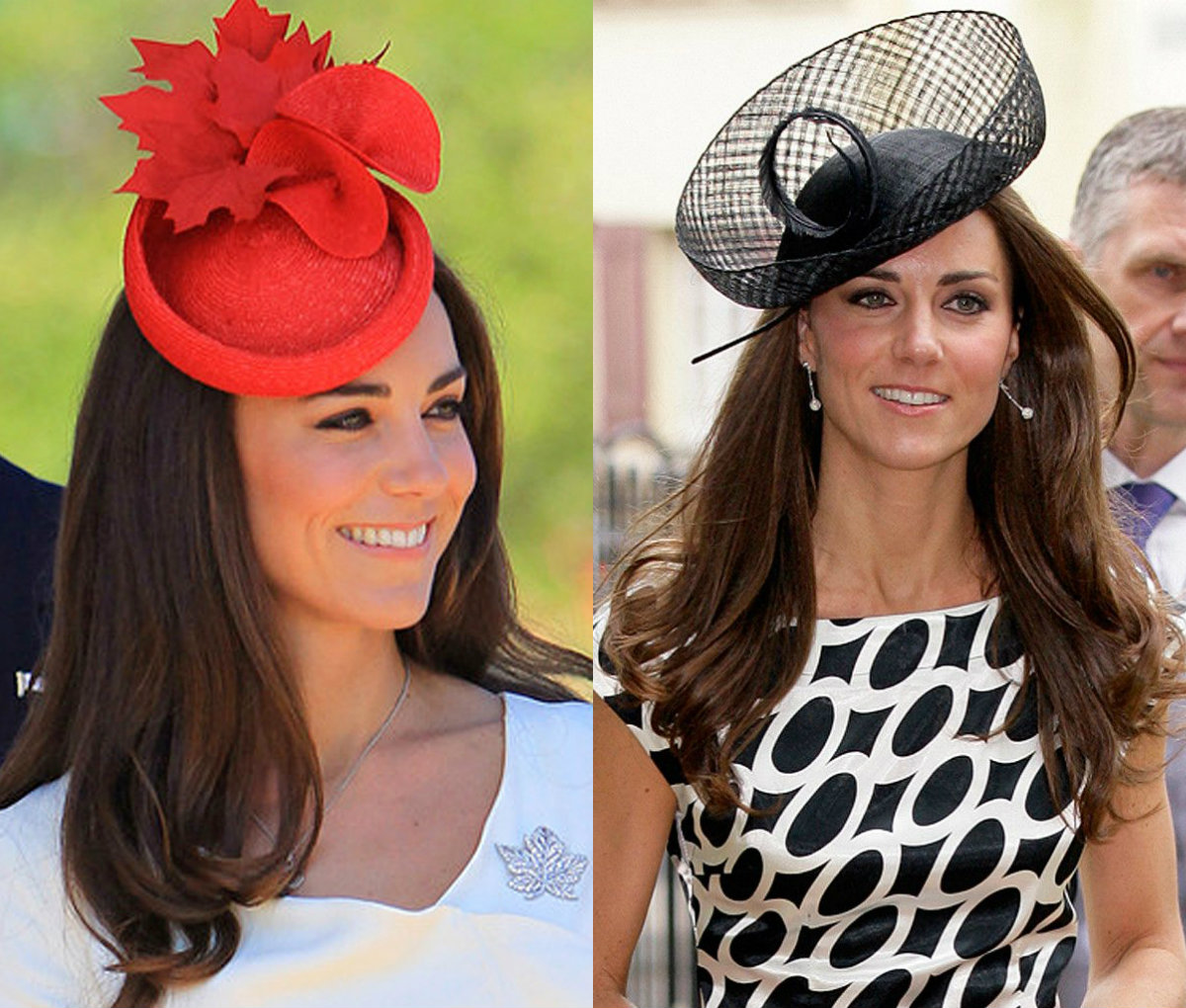 Kate Middleton summer fascinator hats and hairstyles 2017