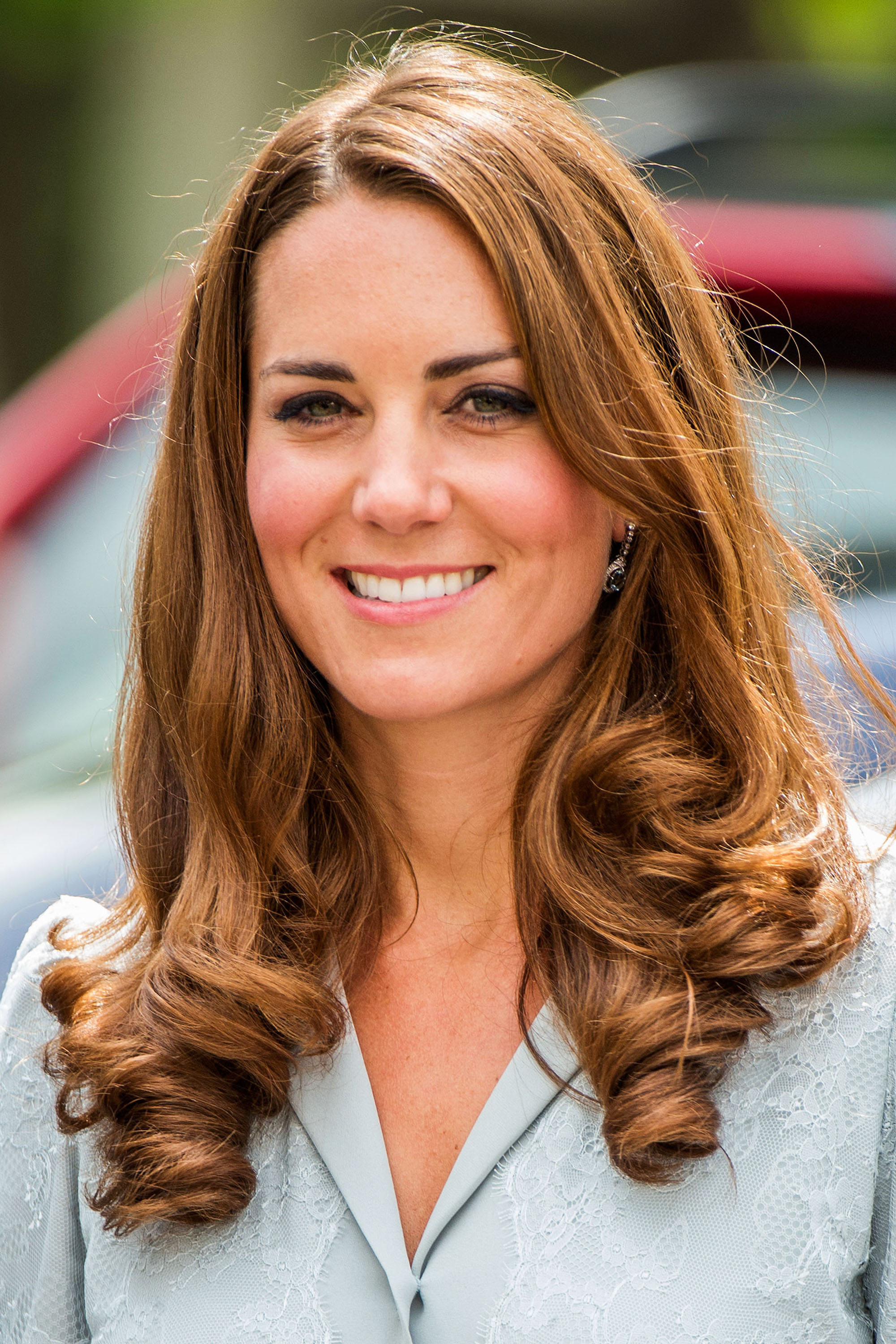 Kate Middleton wavy hairstyles 2017