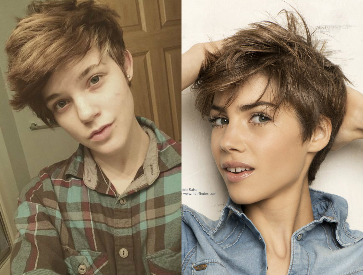 androgynous hairstyles 2017 spring summer