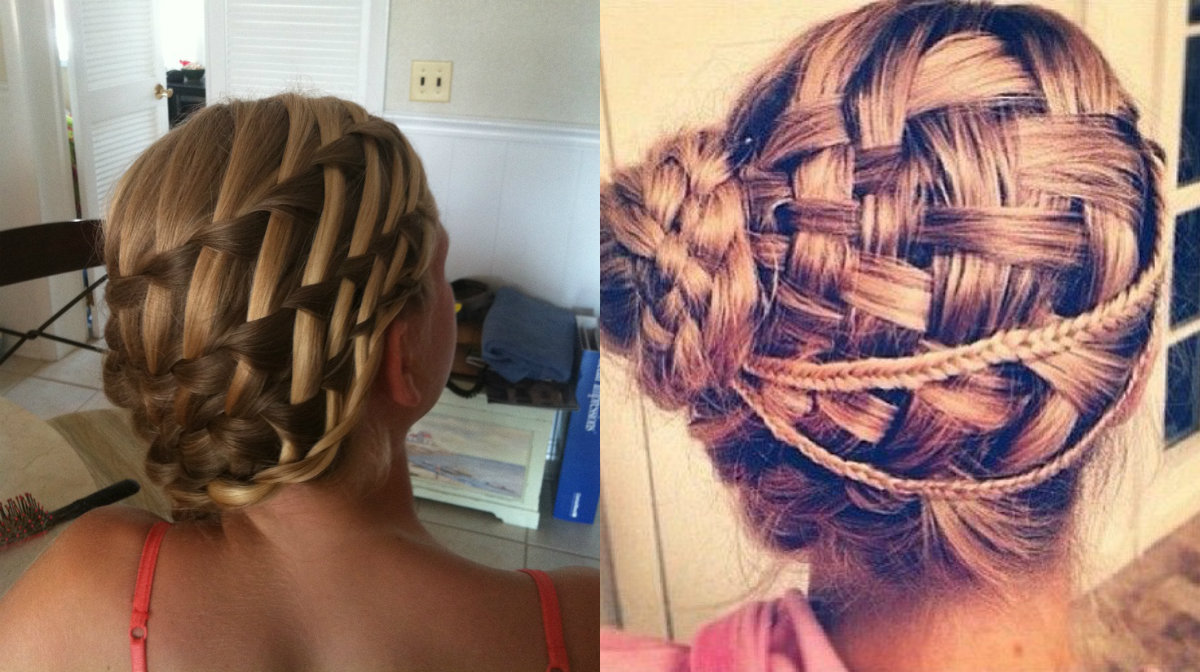 basket-weave-braids-hairstyles-into-low-bun