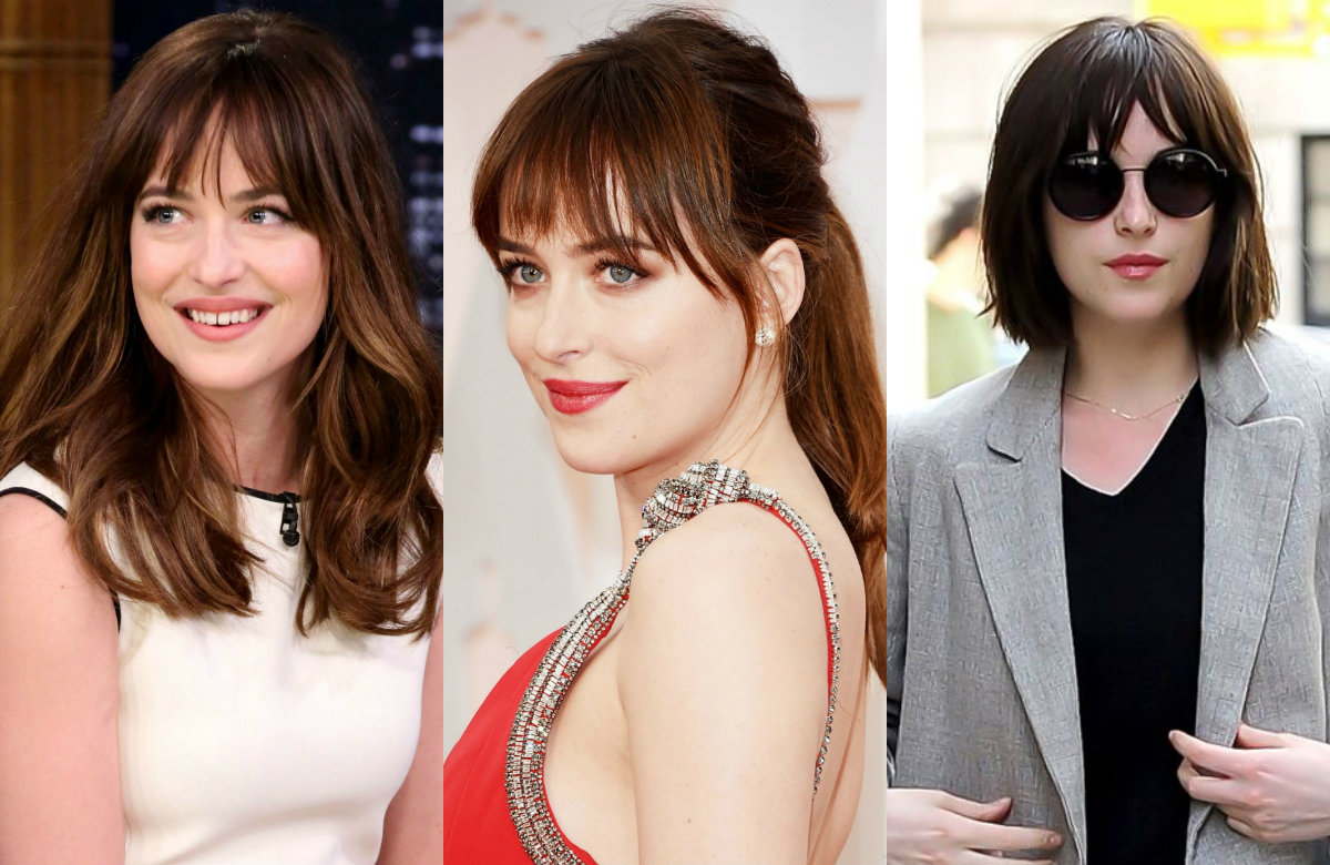 best Dakota Johnson hairstyles 2017
