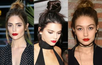 best buns and top knots hairstyles