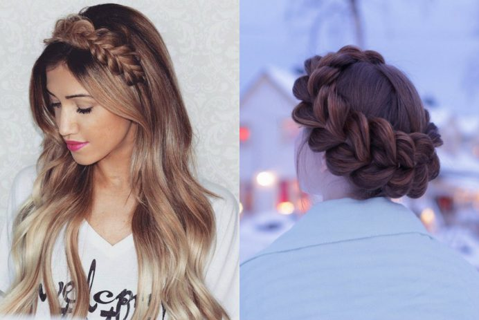 best pull through braids hairstyles 2017
