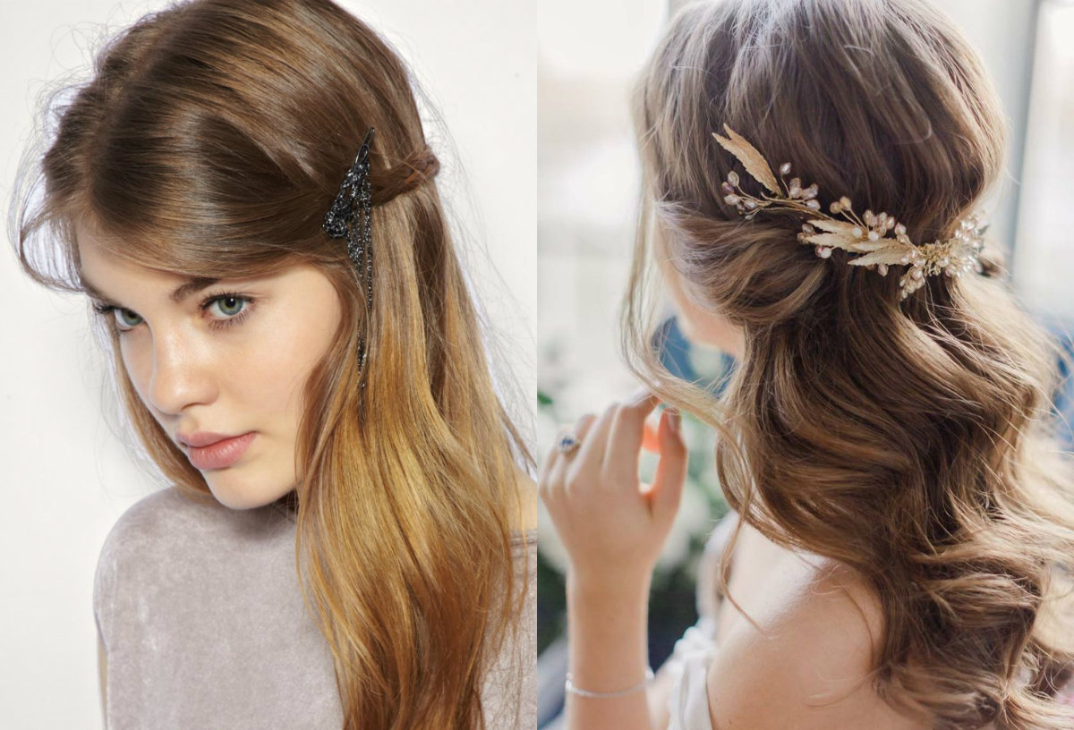 Magnificent Top 5 Romantic Hairstyles For Valentines Day 2017 Hairdrome Com Short Hairstyles Gunalazisus