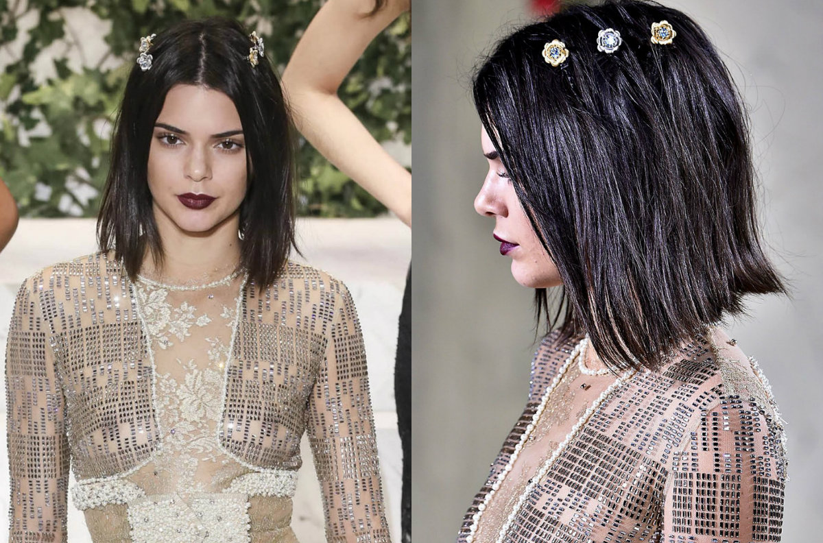 Kendall Jenner new bob hairstyles 2017 Fall