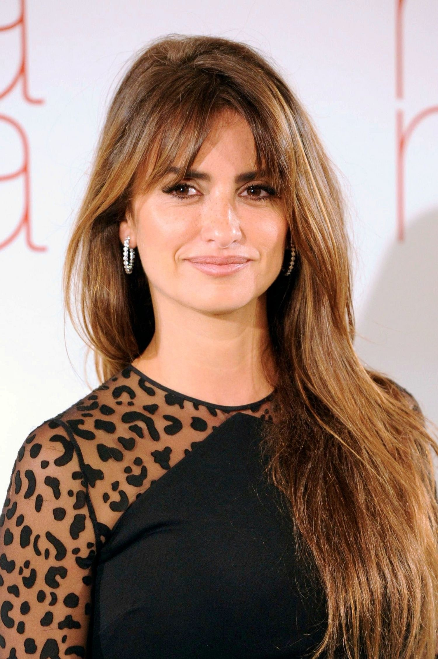 Penelope Cruz brown hair colors 2017