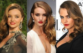 best celebrity old Hollywood hairstyles