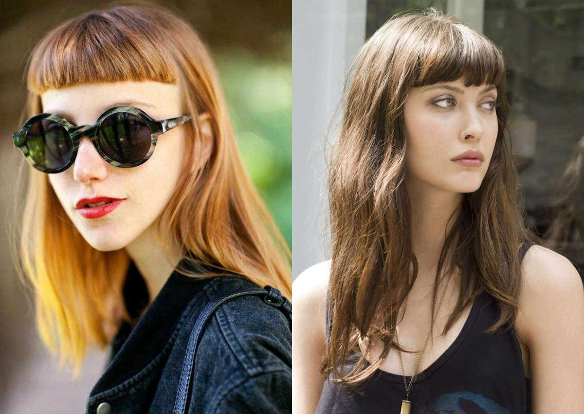 Hairstyles With Bangs To Freshen Up Your Looks | Hairdrome.com