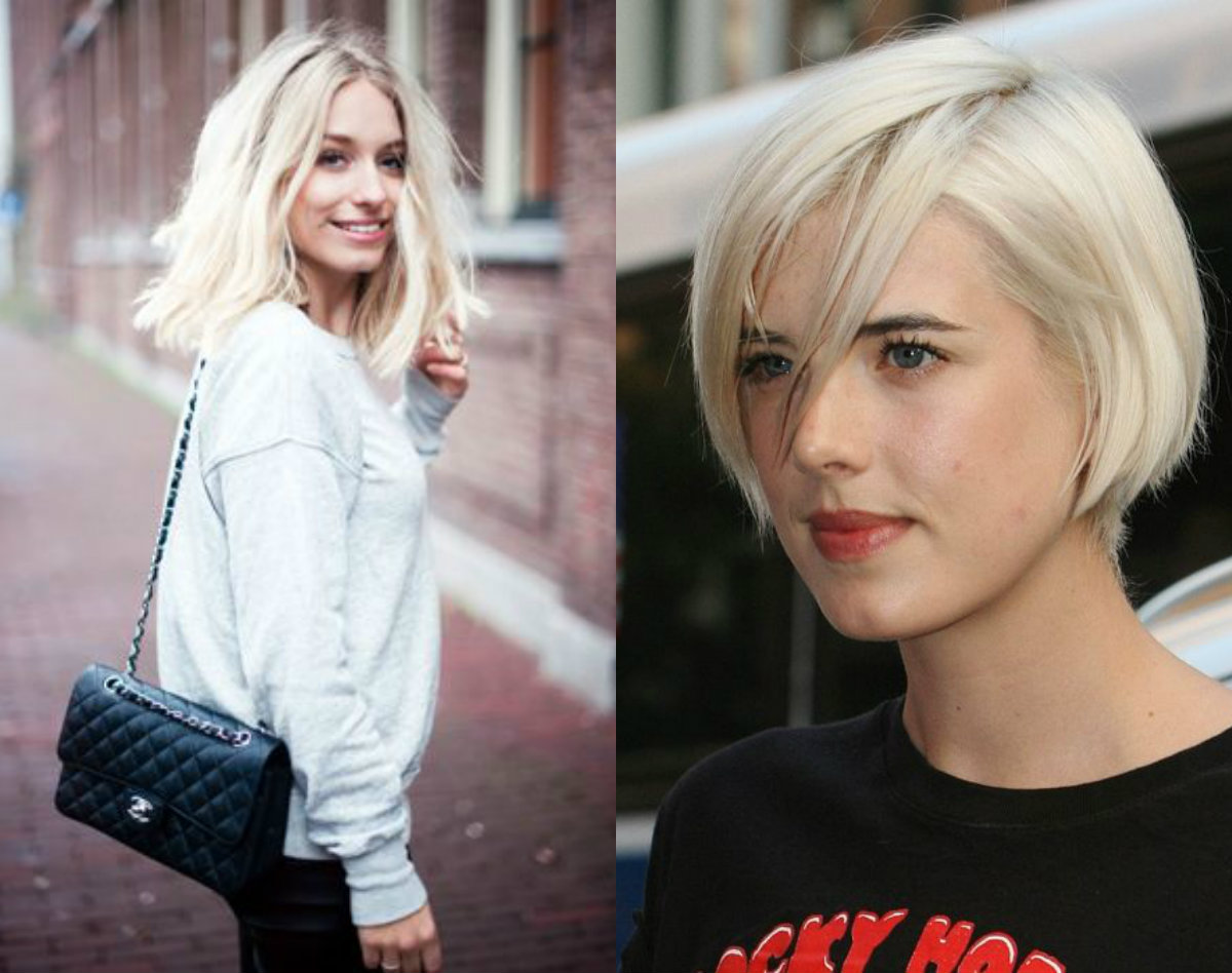 street style blonde bob hairstyles