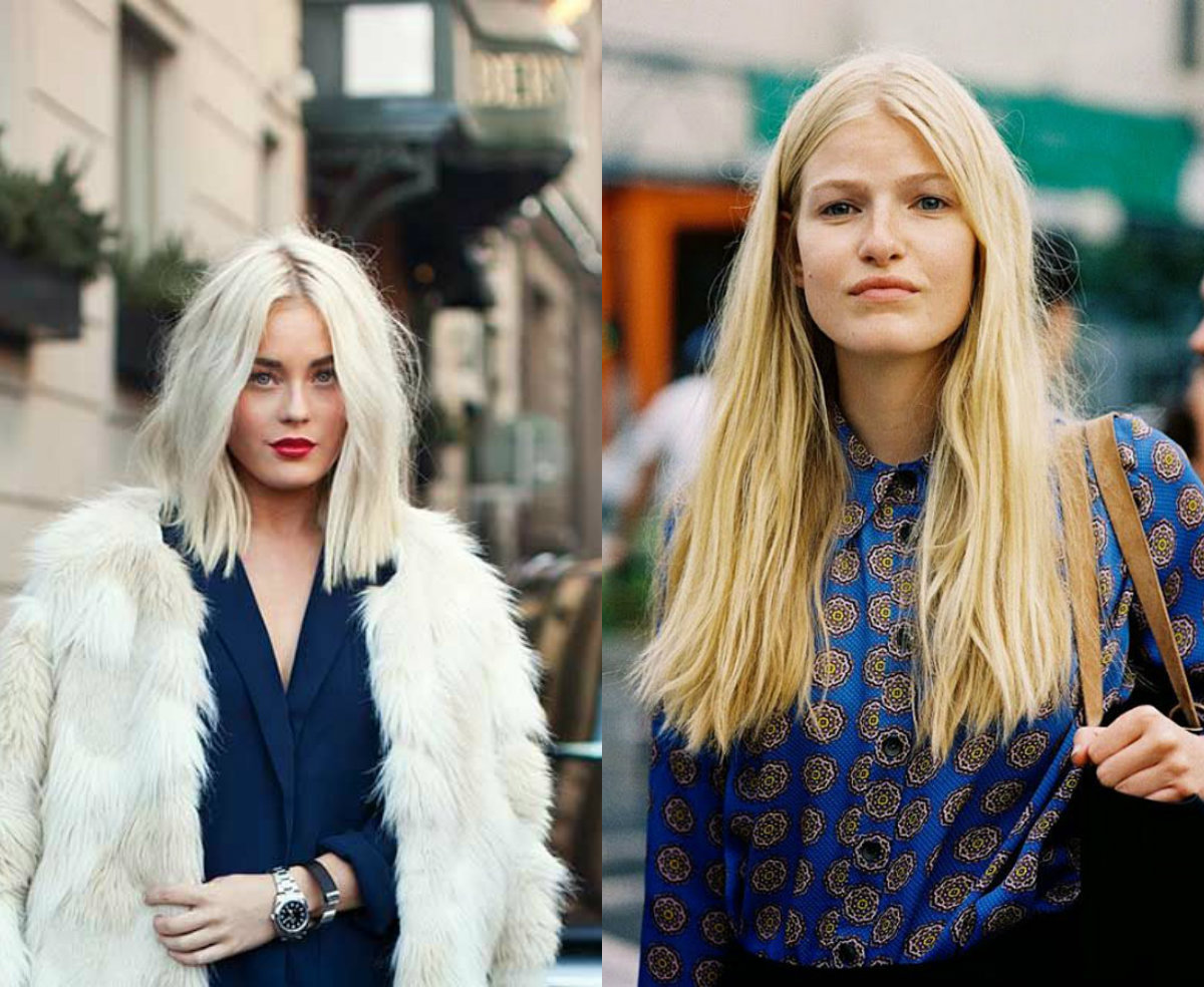 street style middle part hairstyles 2017