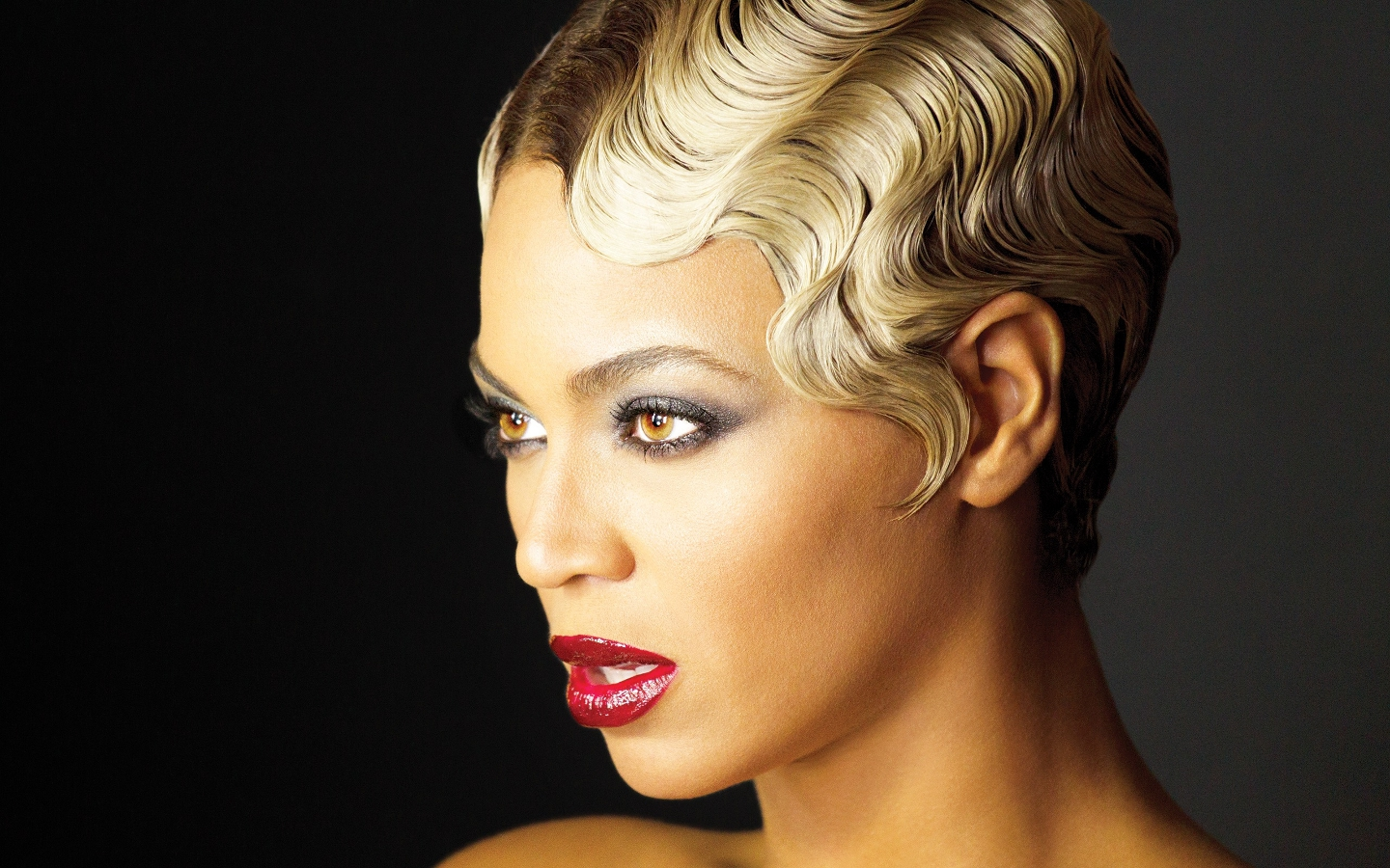 Beyonce finger waves hairstyles