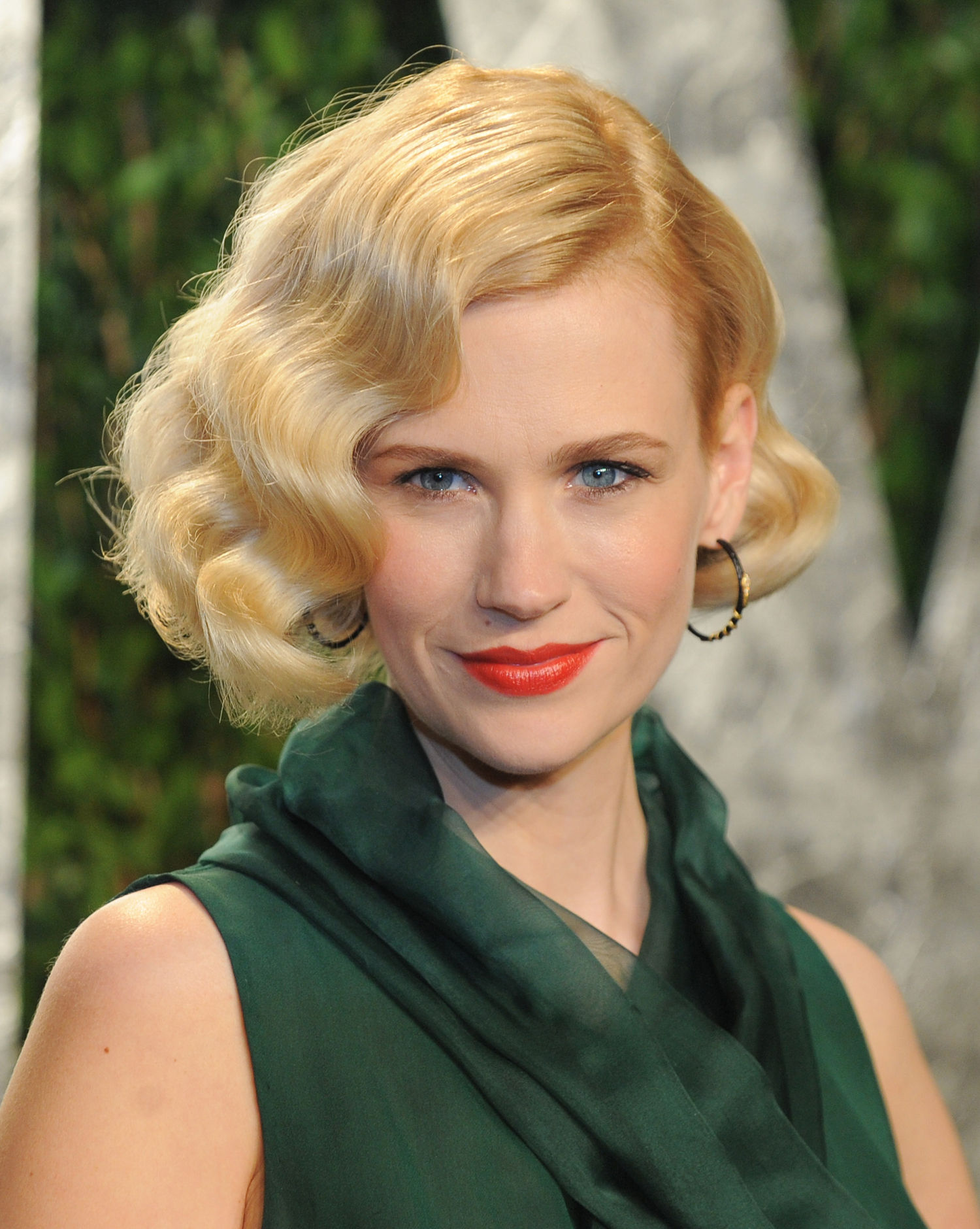 January Jones finger waves hairstyles