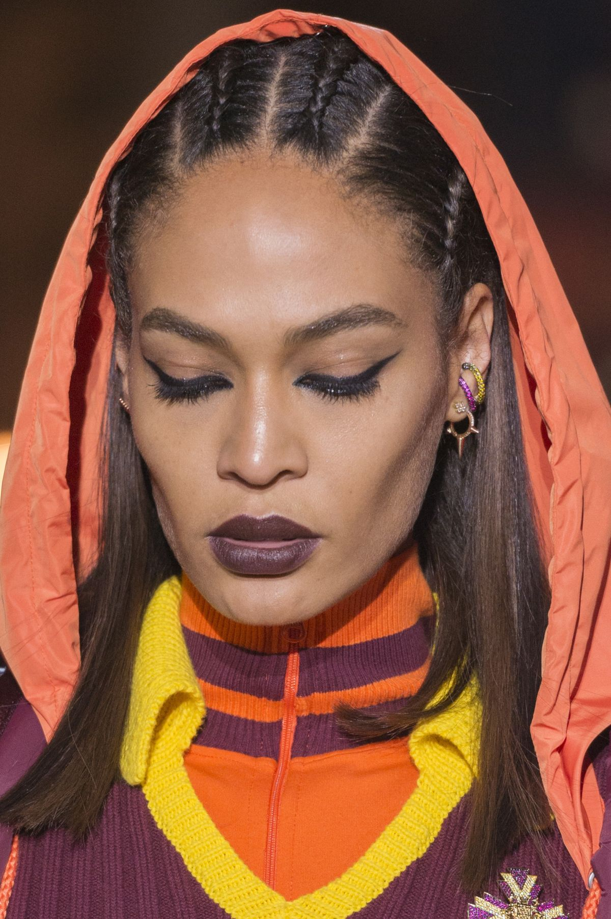 Joann Smalls braids for Fenty 2017 Fall
