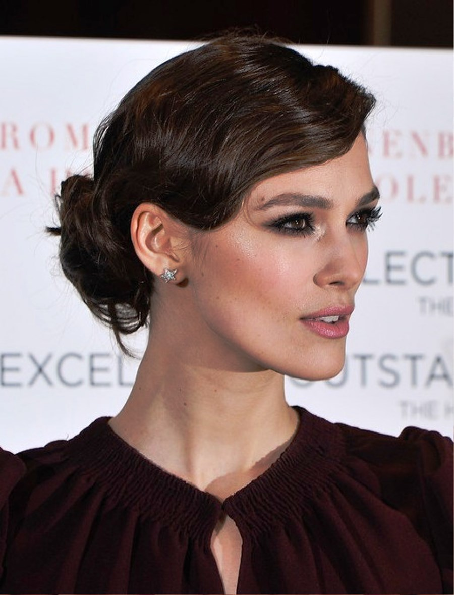 Keira Knightley finger waves hairstyles