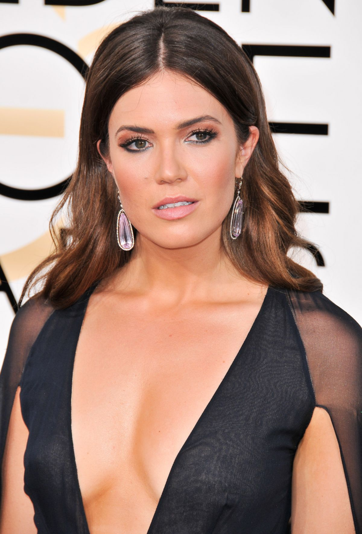 Mandy Moore brunette hair colors