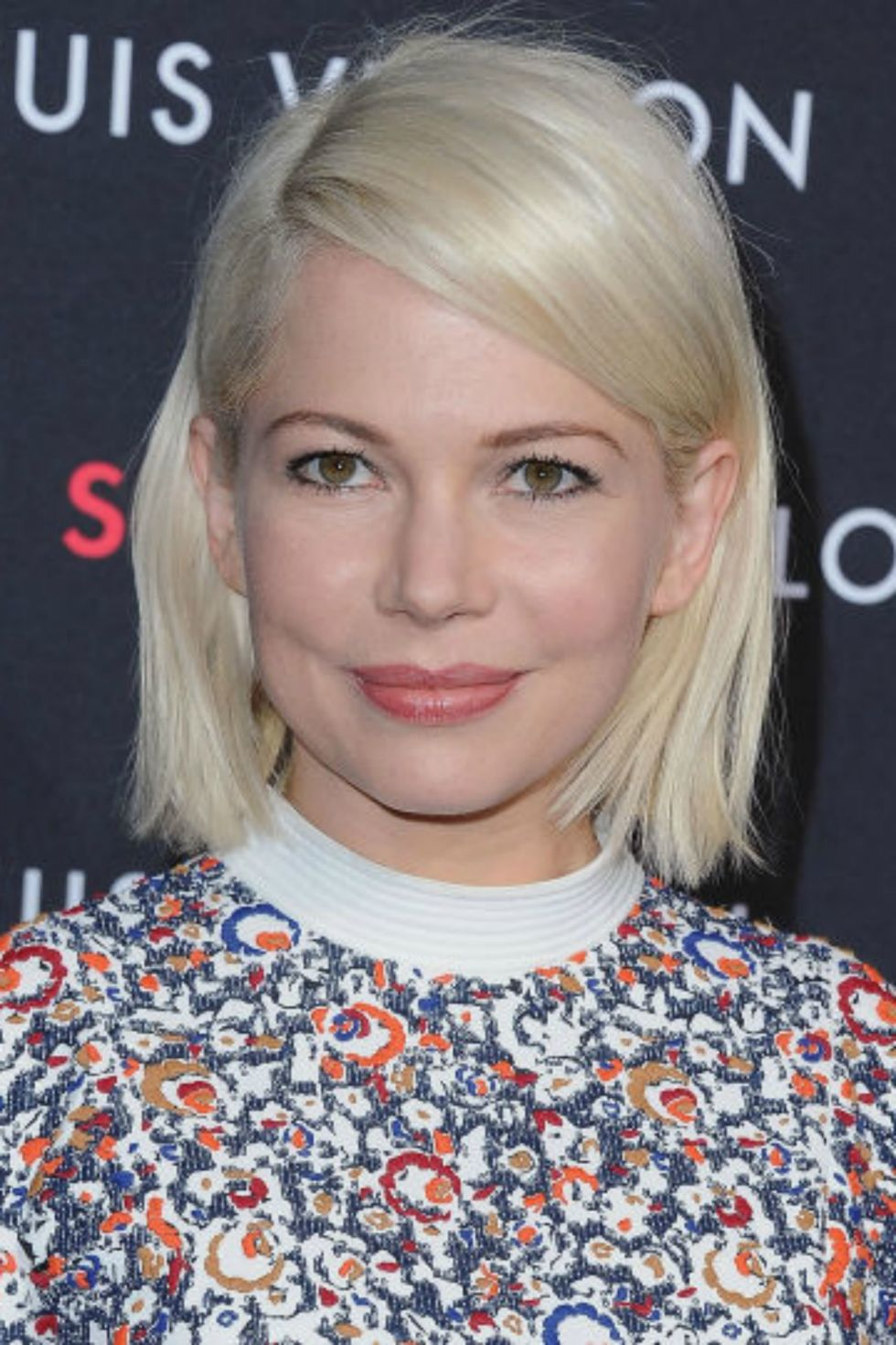Michelle Williams platinum blonde hair colors