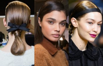 Paris Fashion Week best runway hairstyles 2017 fall