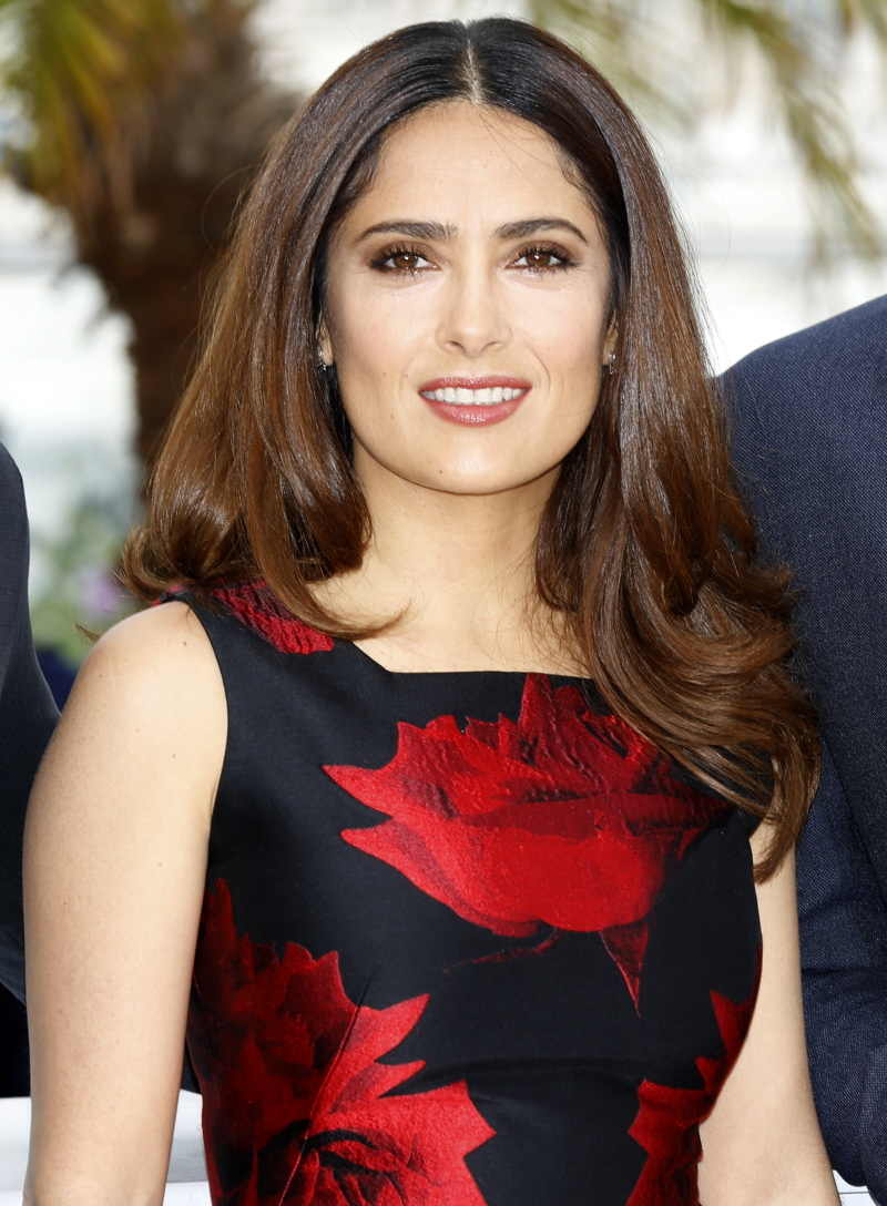 Salma-Hayek-brunette-hair-colors