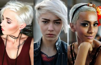best blonde pixie haircuts