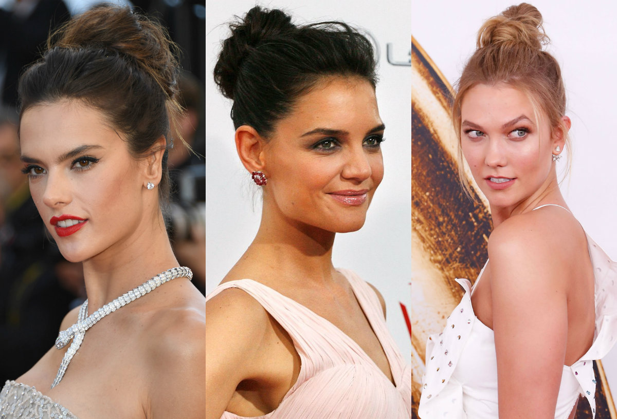 15 Pretty Chignon Bun Hairstyles to Try | Hair | Hair ...