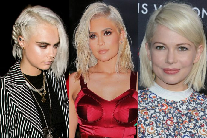 best celebrity platinum blonde hair colors for 2017 summer