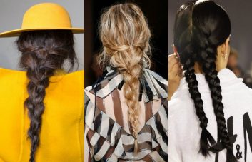 best runway braids hairstyles 20147 Fall