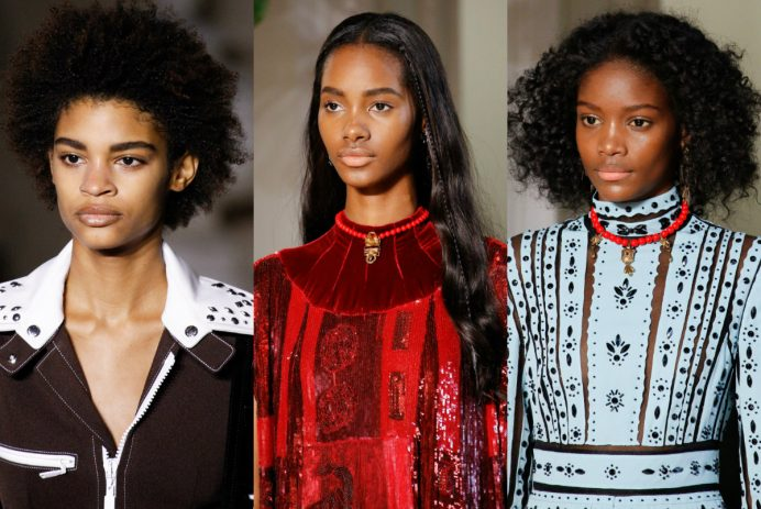 black hair trends 2017 fall-Winter 2018