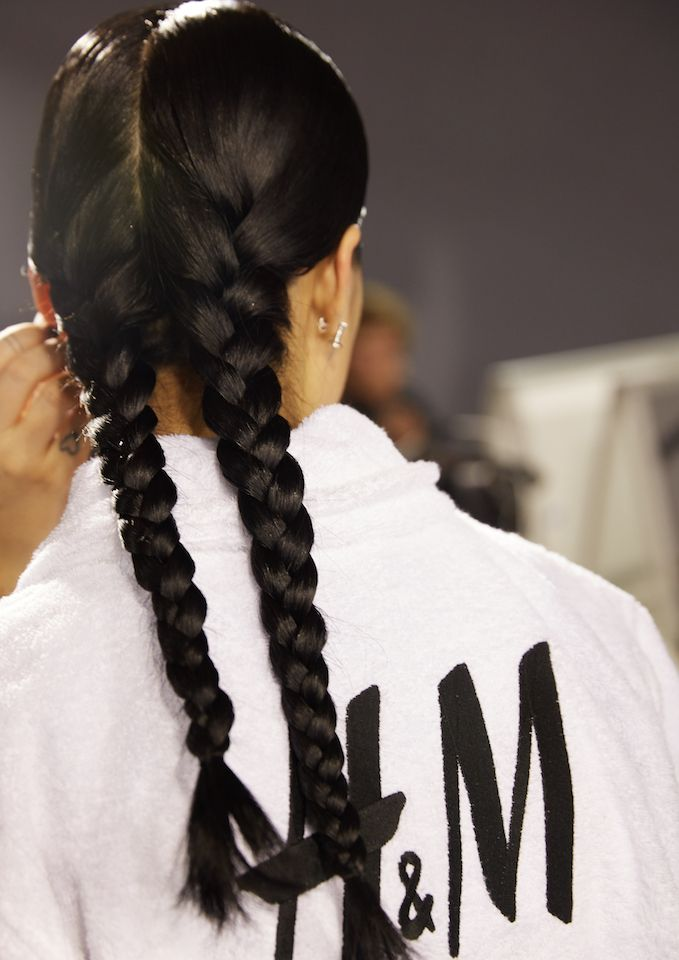 h&m studio braids hairstyles 2017