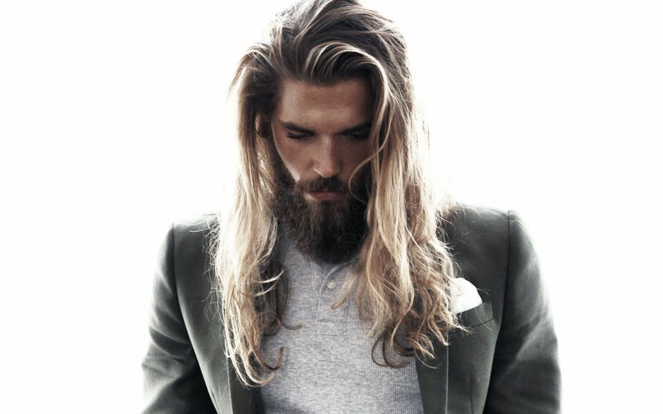 long blonde hairstyles for men