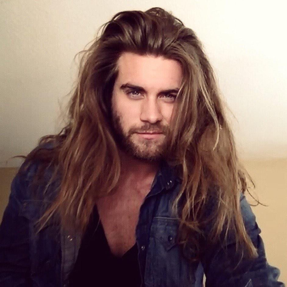 sexy long hair for men