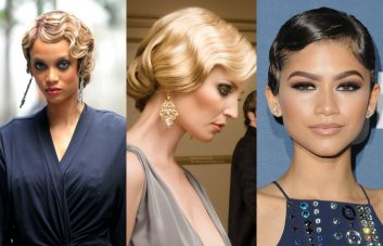 vintage finger waves hairstyles