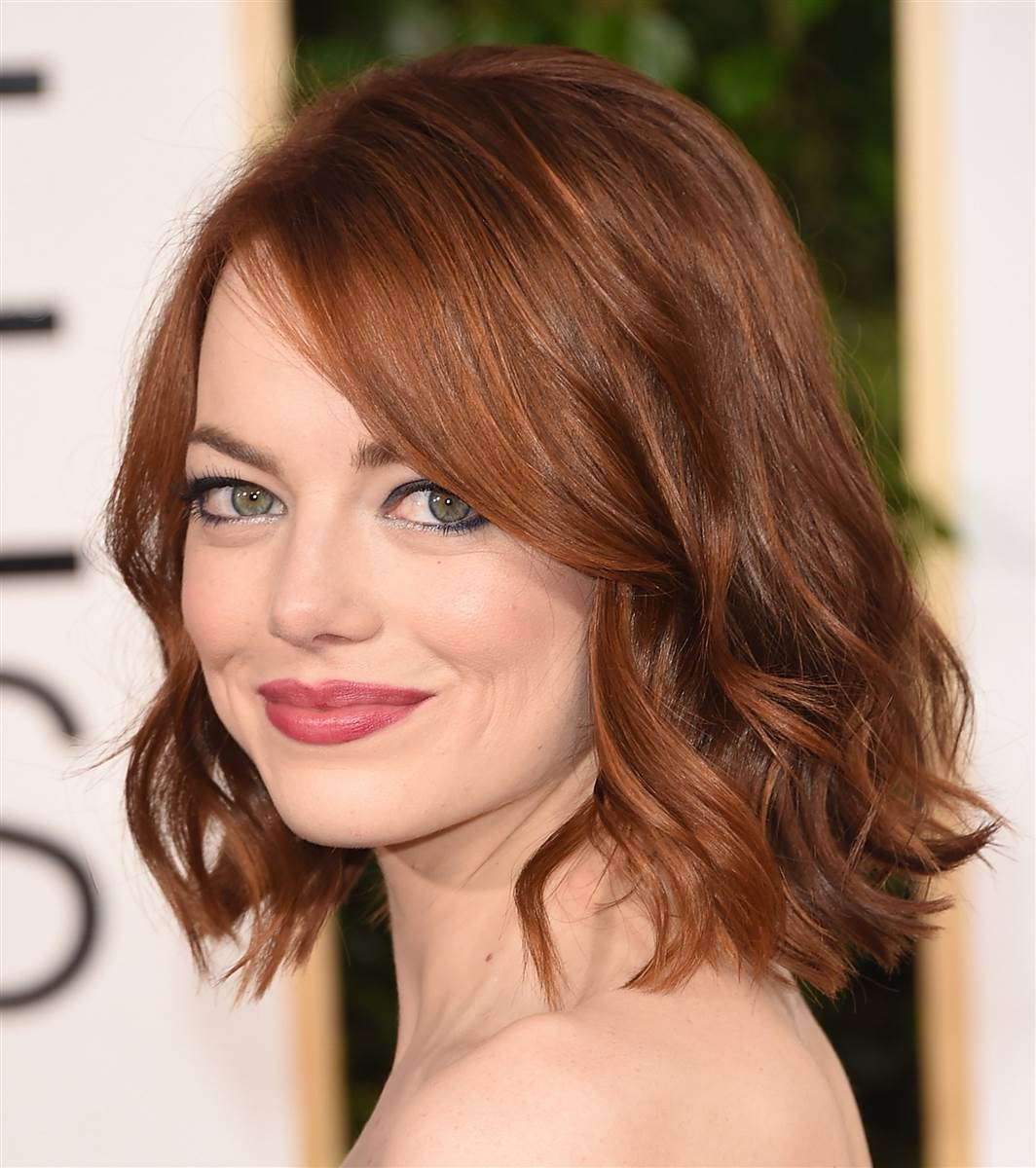 Emma Stone short summer hairstyles