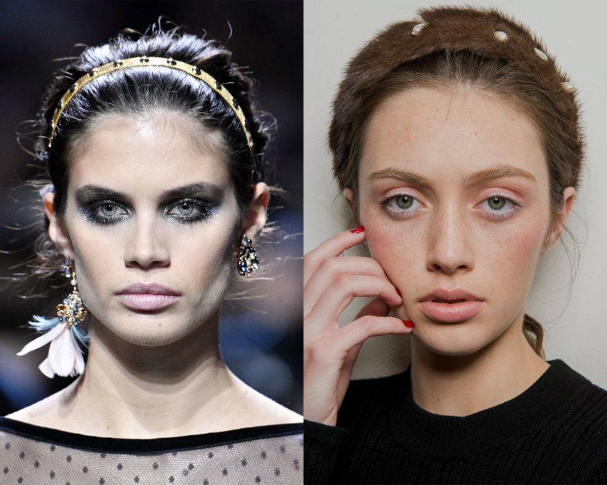 fall 2017 hair trends with headbands