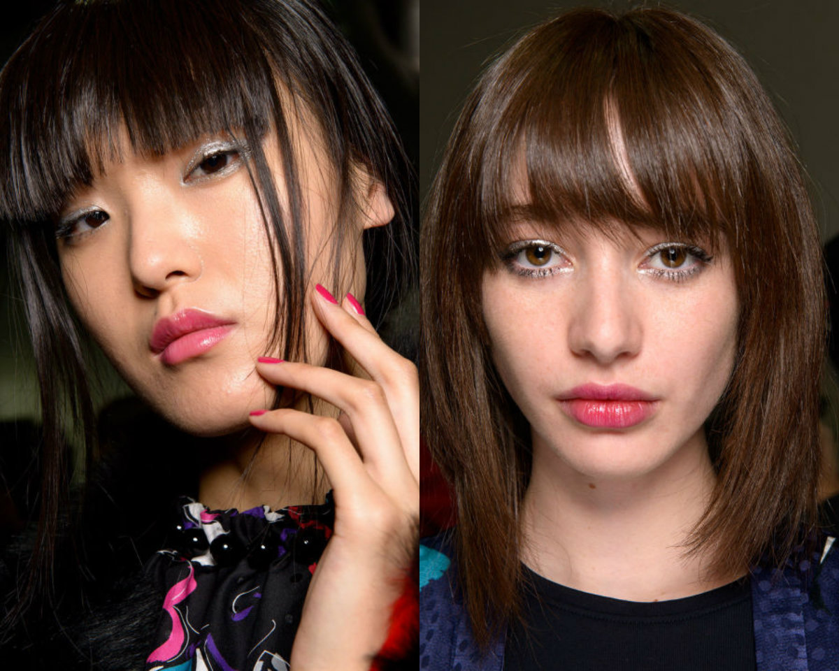 fall 2017 hairstyles with bangs