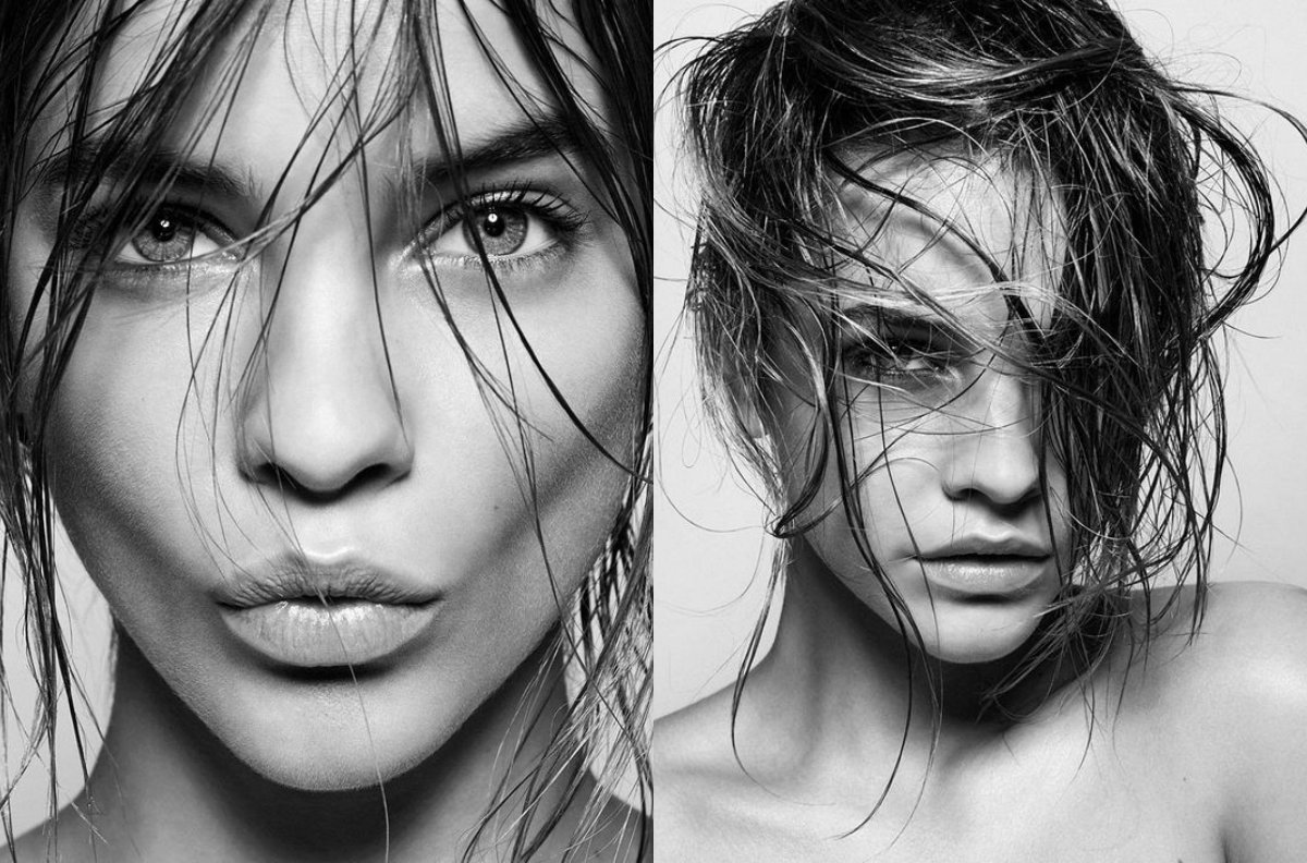 Barbara Palvin wet hairstyles 2017 summer