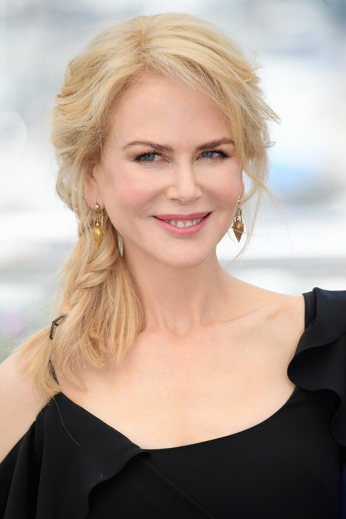 Nicole Kidman side braids hairstyles 2017 Cannes