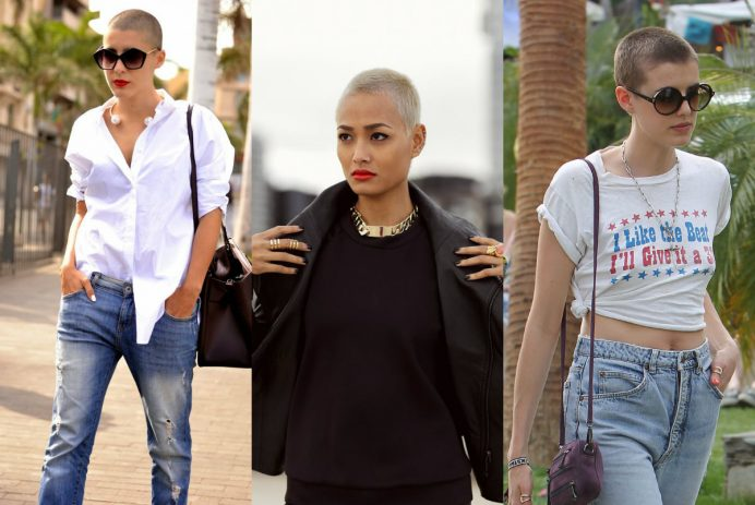 best female buzz cut hairstyles