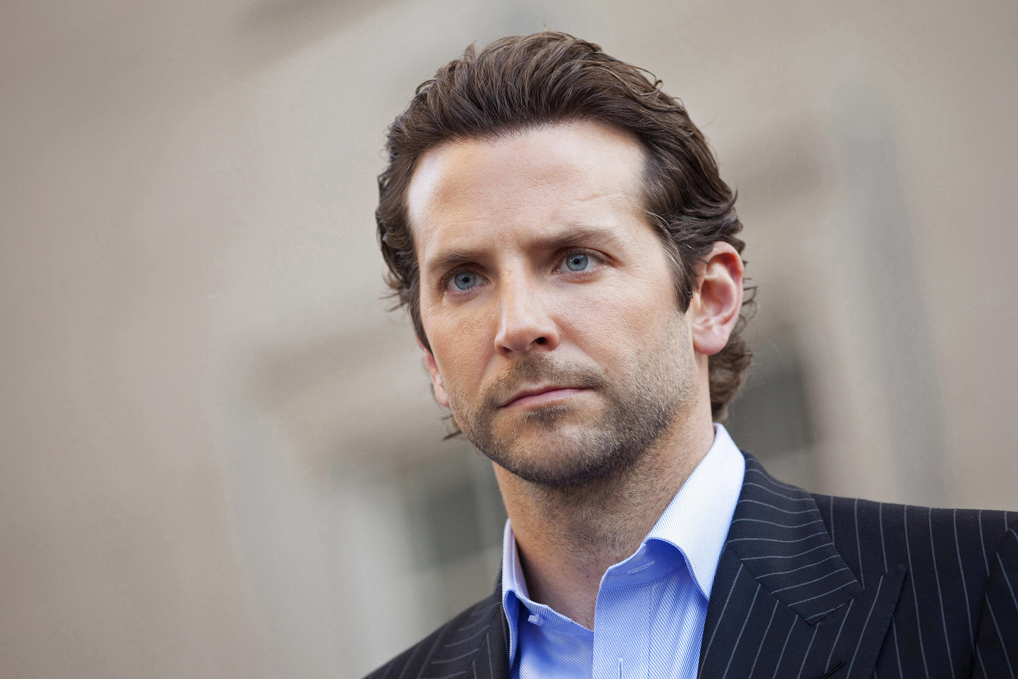 Bradley Cooper men hair trends 2018