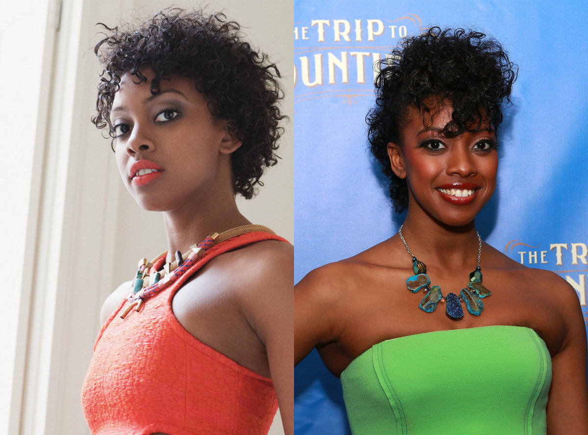 Condola Rashad curly black hairstyles 2018